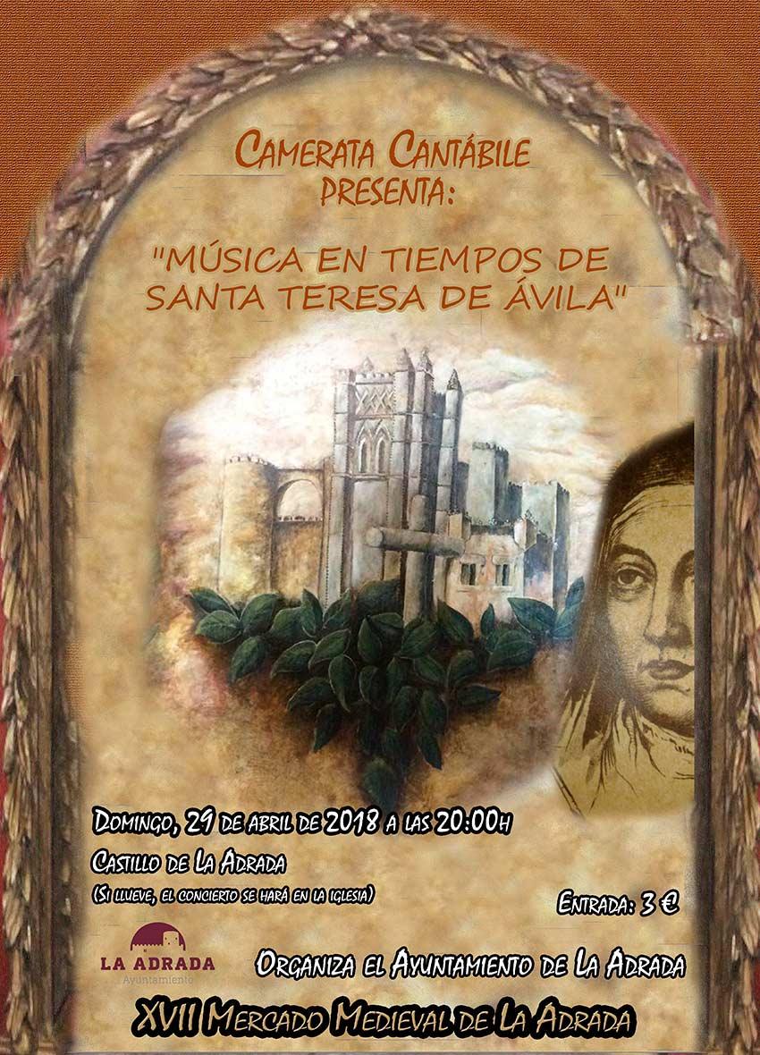 Concierto de Madrigales 2018 en el castillo de La Adrada