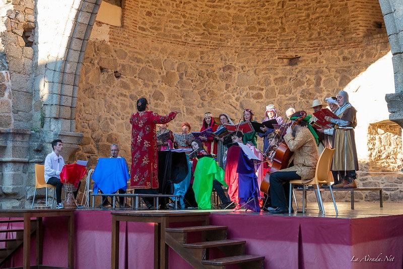 Concierto de Madrigales en el Castillo de La Adrada