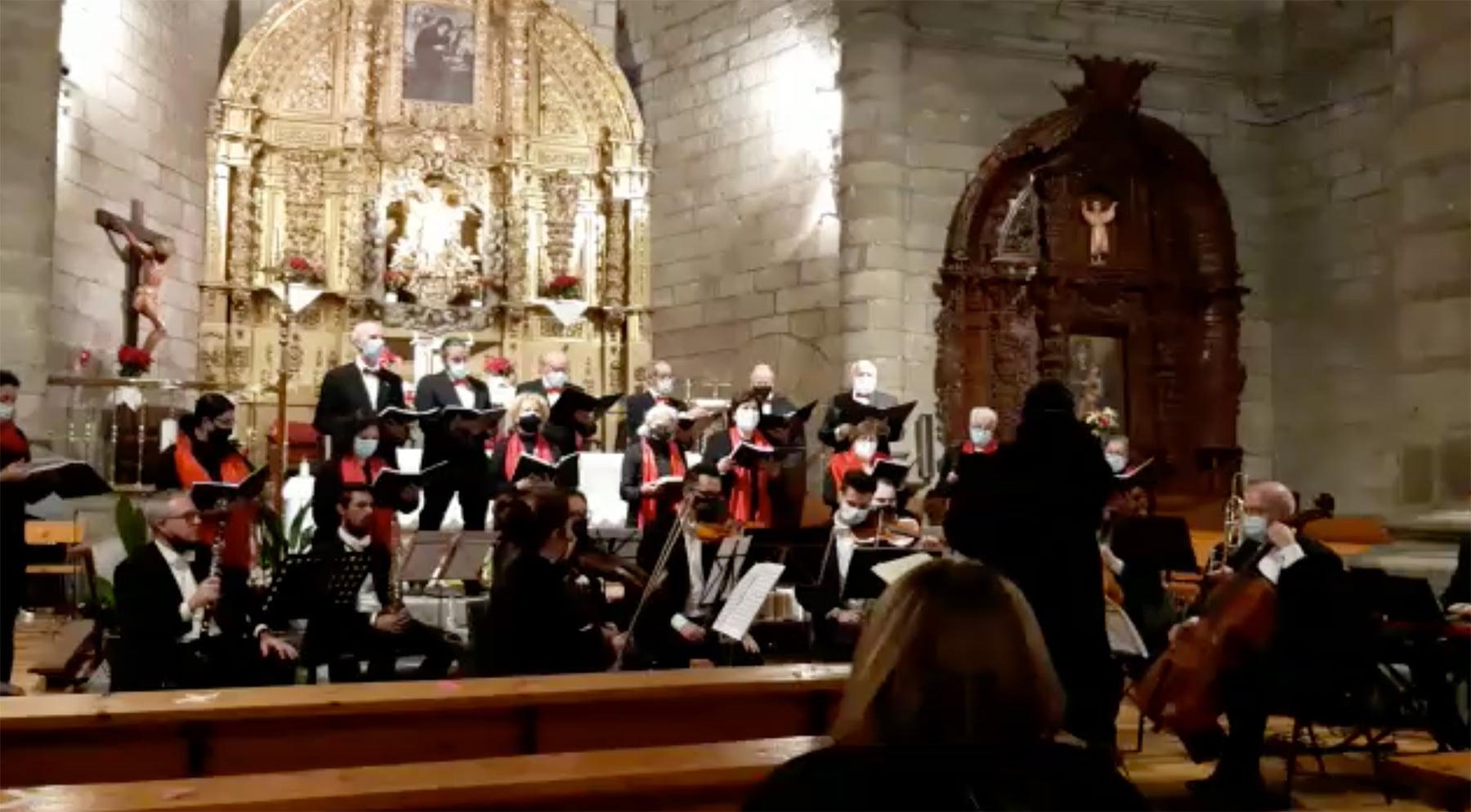 Conciertos de Navidad en La Adrada y El Tiemblo.